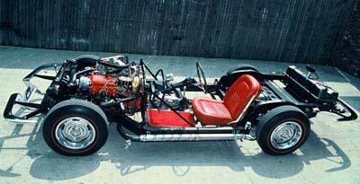 Kevin Mackay's 67 Big Block Chassis Corvette