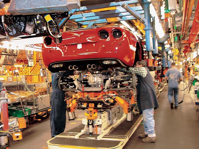 C6 Corvette Production