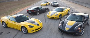 2009 Special Edition Corvettes