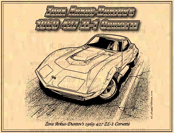1969 ZL-1 Corvette