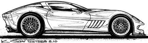 C7 Concept Art profile by K. Scott Teeters
