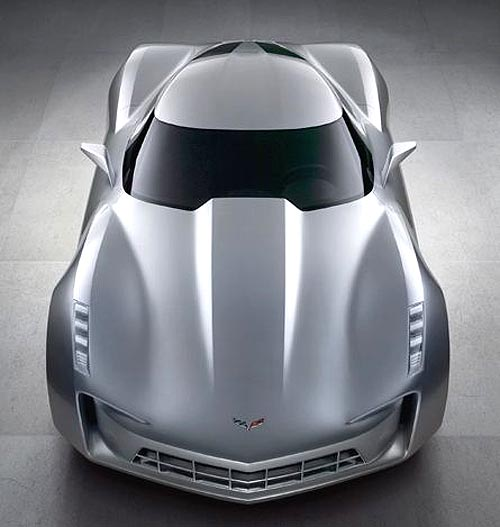 topviewfrontC7 Corvette concept photo