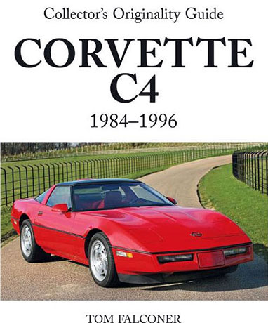 C4 Corvette reference book