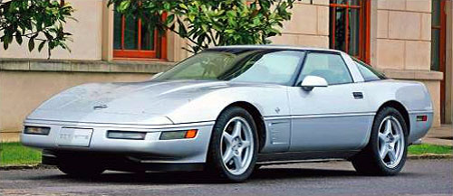 1996 C4 Collector Edition Corvette