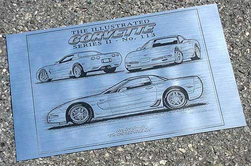 Corvette Laser Art