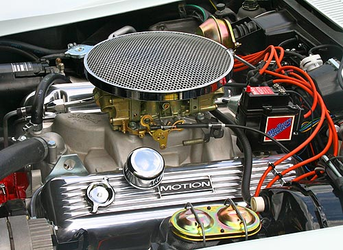 Motion Performance 454 big-block Chevy engine