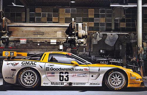 C5-R-003 Le Mans Class Winner