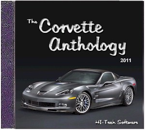 2011 Corvette Anthology CD