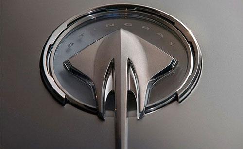 Corvette Stingray Logo. Stingray logo badge they