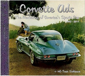 Corvette Advertisements CD