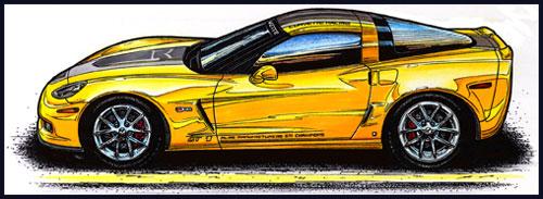 2009 GT-1 Championship Edition Z06 Corvette