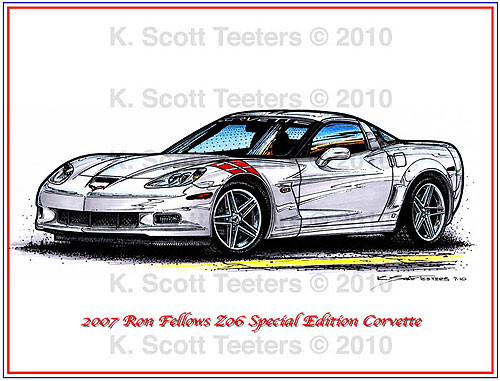 2007 Ron Fellows Z06 Special Edition