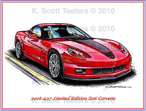 2008 Special Edition 427 Z06 Corvette