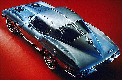 1963 Split Window Coupe Corvette Minus The Split Window