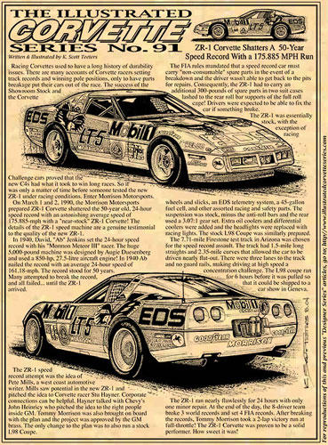 March 1 & 2, 1990: 1990 ZR-1 Corvette Shatters 50-Year Speed