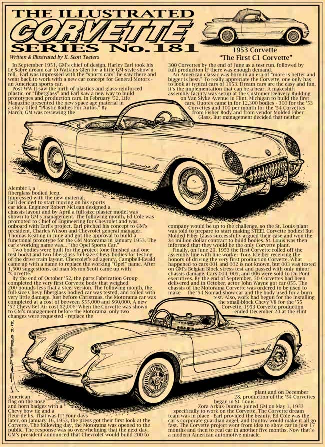 1953 Corvette - The Story of the First C1 Corvettes