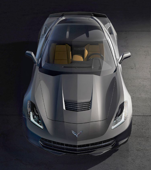 4-corvette-front-top-down-view