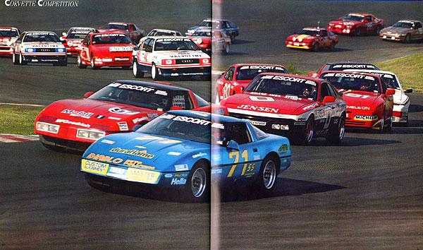 Chevrolet Debuts the New 1987 Corvette on October, 9, 1986