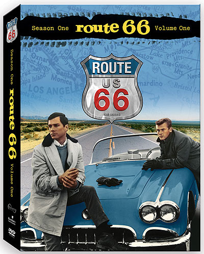 Route TV Show Debuts October - Route 66 tv show car