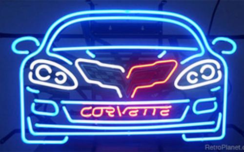 C6 Corvette Neon Sign500