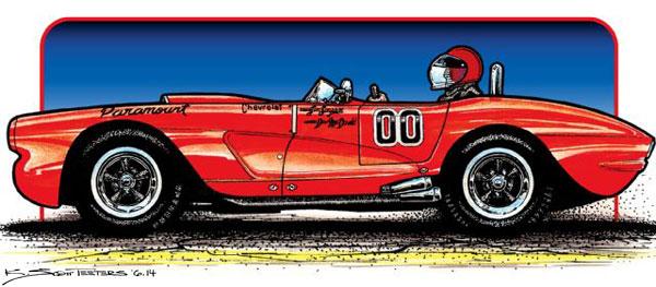 1961-chevrolet-corvette-sketch-side-view