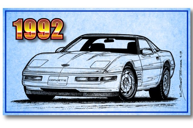 1-1992-chevrolet-corvette-illustration-front-side