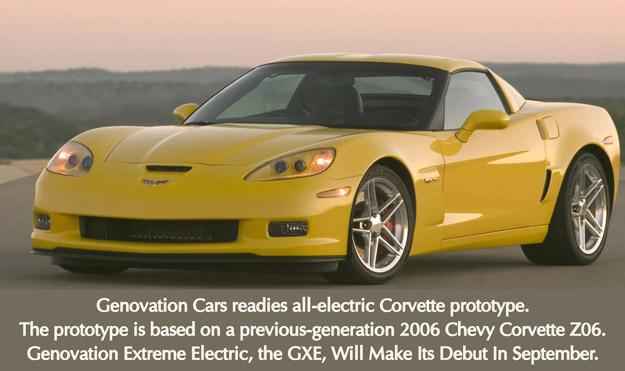 Electric corvette