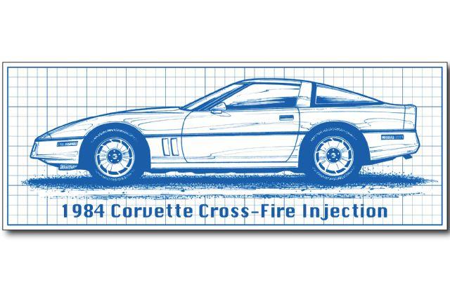 1984-chevry-corvette-illustration