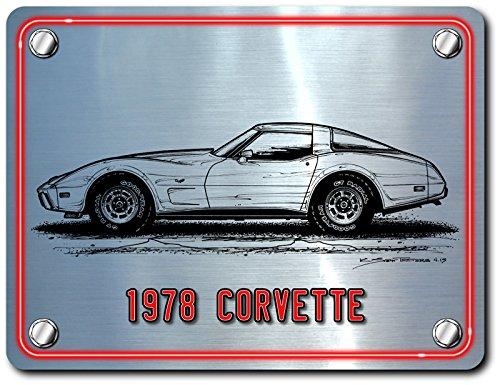 Metal-1978-Corvette