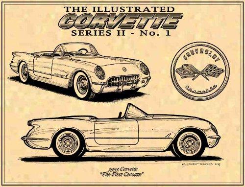 1953 C1 Corvette Art print