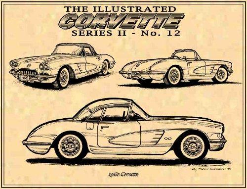 1960 c1 Corvette Art print