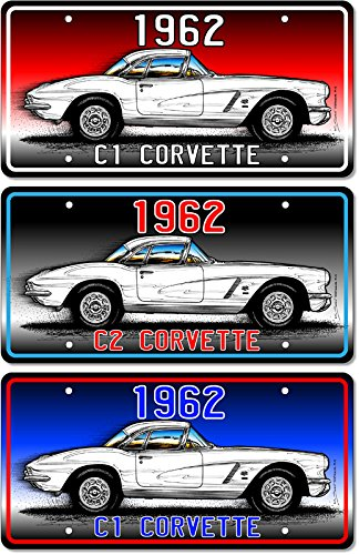 1962 C1 Corvette Art print