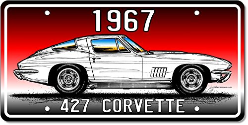 1967 427 Corvette Art print