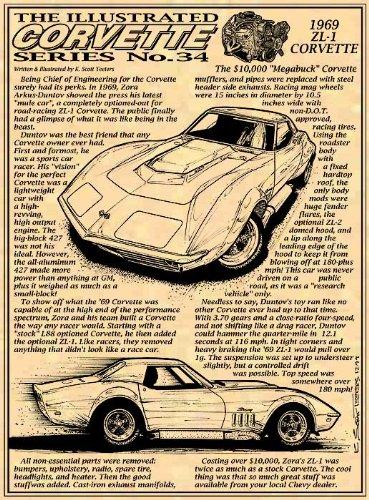 1969 ZL1 Corvette Art Print