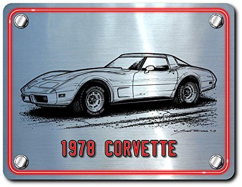 1978 Corvette Art print