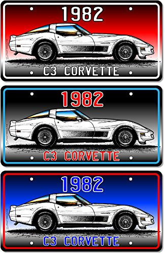 1983 Corvette Art print