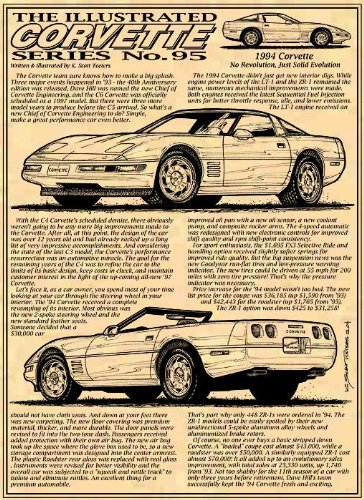 1994 Corvette Art print