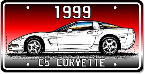 1999 Corvette Art print