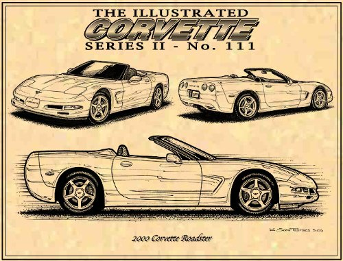 c5 corvette art prints by k  scott teeters