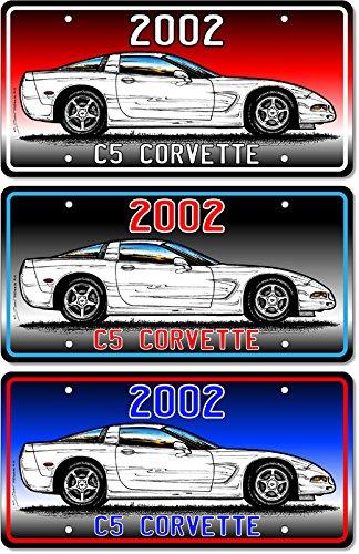 2002 Corvette print