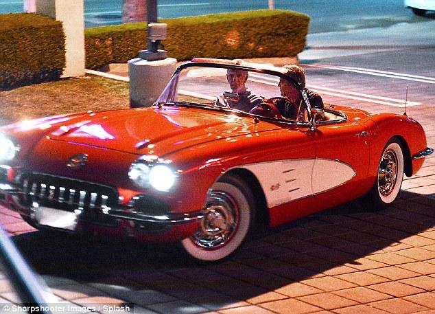 clooney corvette 2
