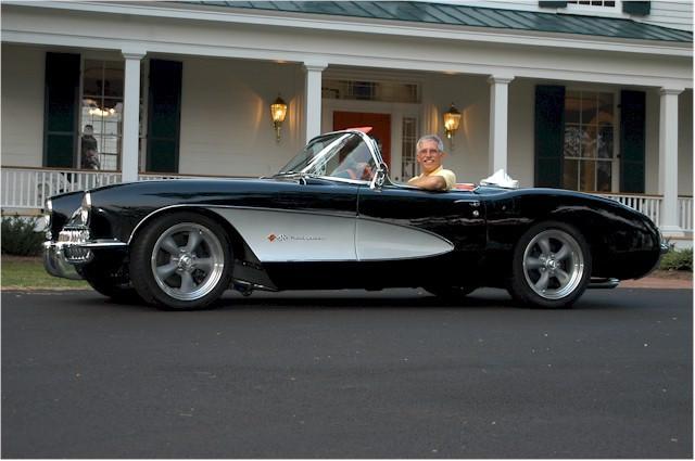 Corvette Centrals Concept 57 Repro Body Best Kit