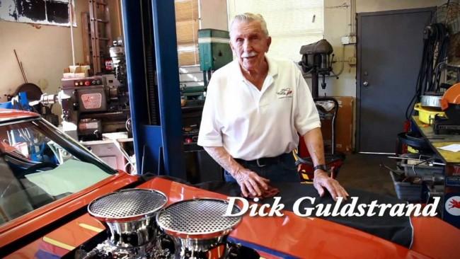 dick guldstrand in garage