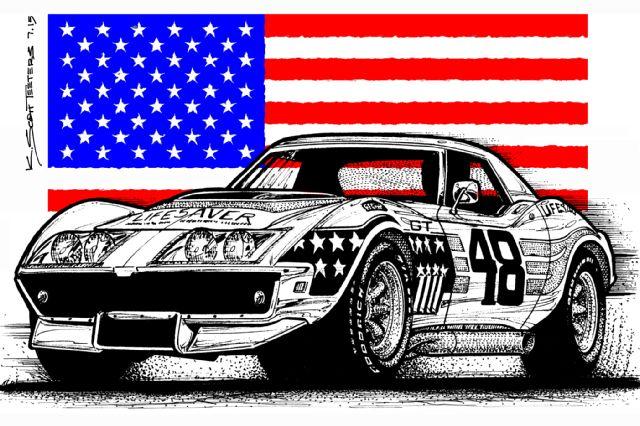 john-greenwood-corvette-tribute