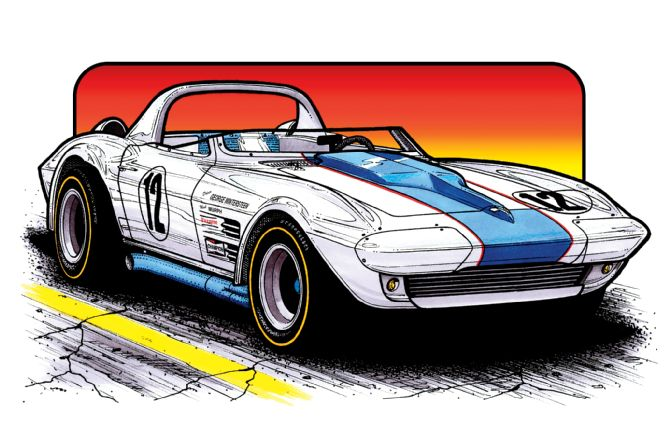 wintersteen-427-l88-grand-sport-roadster-illustration-front-view
