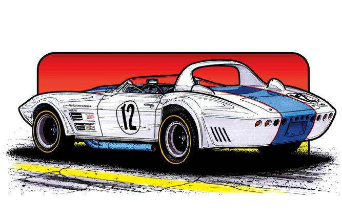 wintersteen-427-l88-grand-sport-roadster-illustration-rear-side-view