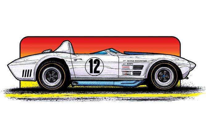 wintersteen-427-l88-grand-sport-roadster-illustration-side-view