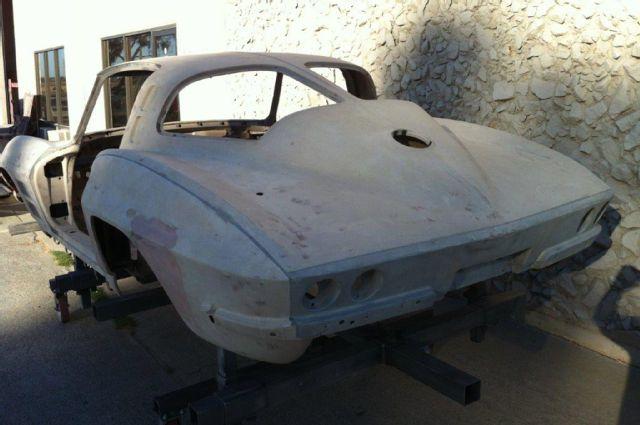 Reversing past deeds to 1963 split window corvette sting ray for 1963 corvette split window kit car