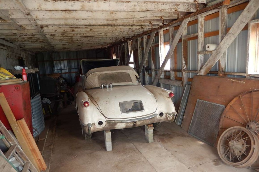 Chance Barn Find Yields Two C1 Corvettes