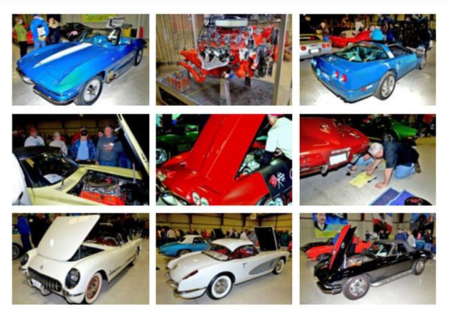 Winter Corvette Show